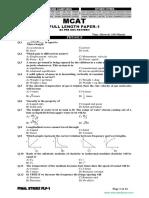KIPS FLP 1 MDCAT(Educatedzone.com)