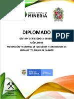 Prevención y control de incendios y explosiones de metano y o polvo de carbón.pdf
