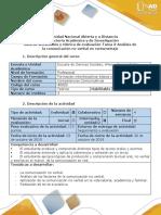 Guía de Actividades y Rúbrica de Evaluación-Tarea 3-Análisis de La Comunicación No Verbal en Cortometraje