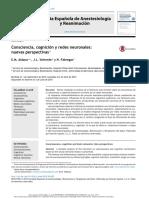 Aldanaa,∗, J.L. Valverdea y N. Fábregas 2015  conciencia cognición y redes neuronales