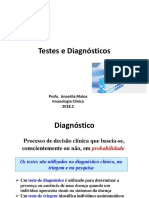 Testes e Diagnósticos