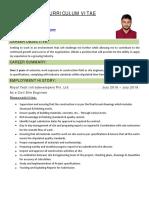 Civil Engineer CV Autocad