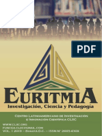 Revista Euritmia, Vol. 1 N°1