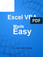 Excel VBA Made Easy-Liew Voon Kiong