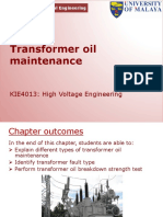 Slide KIE4013 (S) W7 (G) Transformer Oil Maintenance