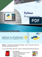 Python Programming and Training