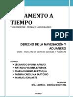 Fletamento a Timpo-monografia