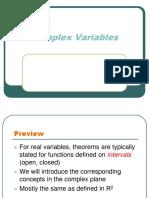 Regions in Complex Analysis