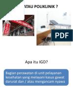 Edukasi IGD