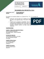 GOMEZ PIEDRAHITA La Torre Ficha Tecnica Arquitectura Concreto