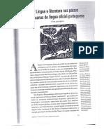 LARANJEIRA, P - Língua e Literatura Nos Países Africanos de Língua Oficial Portuguesa