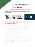 Cámaras de Vigilancia y Seguridad