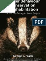 Badger Behaviour, Conservation and Rehabilitation - Sample Chapter
