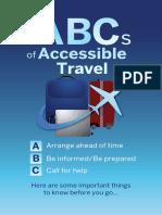 ABCs of Accessible Travel-Digital Brochure