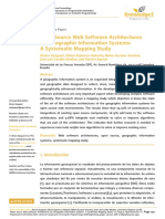 Open Source Web Software Architectures for Geographic Information Systems