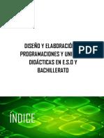 DISEÑO Y ELABORACIÓN. ÍNDICE