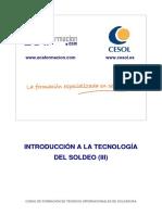 Introducción a La Tecnología Del Soldeo(III)