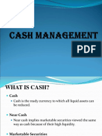 4. Cash Management