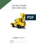 MANUAL DE PARTES CARMIX