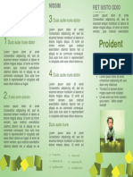 Template Brochure In