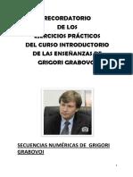 RECORDATORIO EJERCICIOS PRÁCTICOS CURSO INTRODUCTORIO DE ENSEÑANZAS GRABOVOI .pdf
