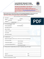 Police Report Template 05
