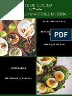 Recetas - Francisco Martínez Motiño