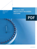 BPHE Process Gas Waste Heat Recovery System E-Borsig