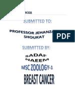 Breast Cancer by sadaf naeem
