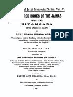 Niyamsara (the Perfect Law)