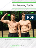 Calisthenics Training Guide Calisthenics Family Free