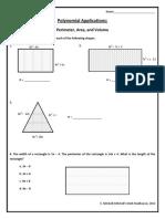 Polynomial Application 10-19