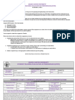 gcu student teaching evaluation of performance  step  standard 1 part i - signed  3