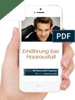 Schluss Mit Haarausfall Buch PDF