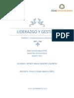 Sesión 2 Liderazgo Y GESTION Analisis de Caso