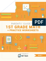 Parents Guide to 1st Grade Math