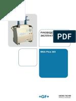 Manual Msa Plus 350