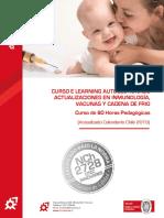 Programa Curso E Learning AUTOGESTIONADO Inmunología Vacunas y Cadena de Frío 2019 60 Horas OTEC Innovares