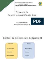 Proceso de Descontaminación del Aire