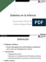Endocrinología Ped- Diabetes y Obesidad en La Infancia 2018