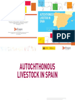 Autochthonous livestock in Spain