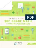 Parents Guide to 3rd Grade Math