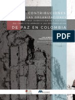 Contribuciones de las organizaciones de victimas a las epistemologías de paz en Colombia