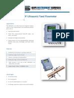 TDS100F Ultrasonic Flowmeter