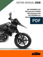KTM 690 Supermoto - Repair Manual