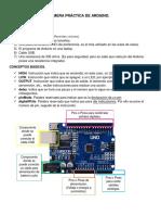 Práctica de Arduino. (8 LEDS)