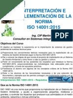 Interpretacion e Implementacion Norma Iso 14001 2015