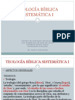 Teología Bíblica Sistemática i