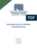Importancia de Los Detalles Arquitectónicos
