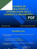 Control de Operaciones - Limpieza y Transporte